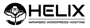 Hébergement WordPress géré par Helix Logo d'hébergement WordPress